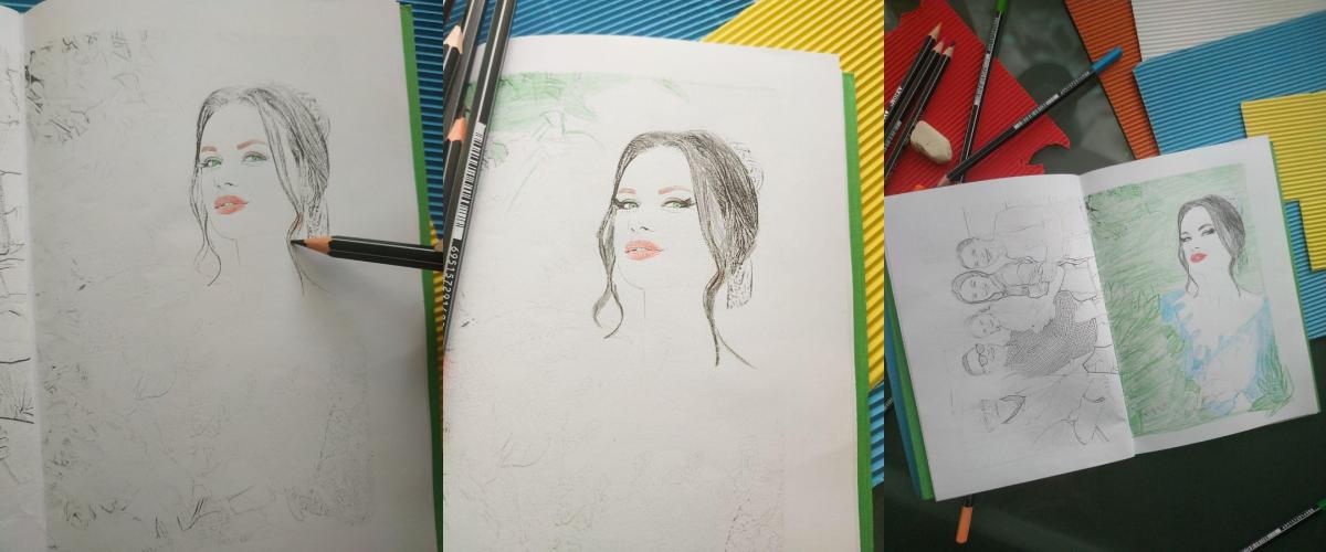 Custom Coloring Book from Mimi Panda
