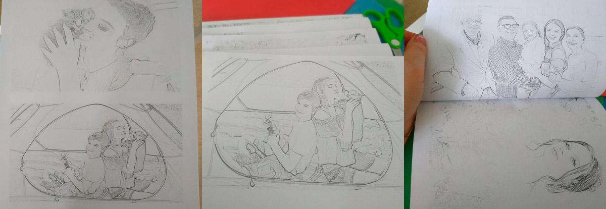 Creating a Custom Coloring Book