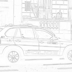 Mercedes Benz - Coloring page