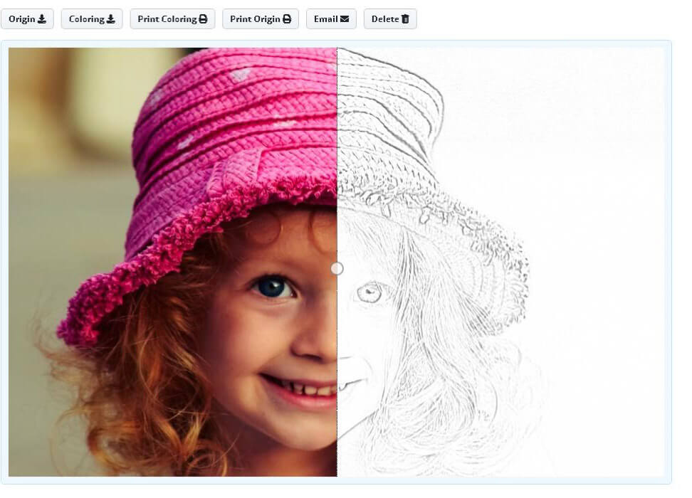 Manage your Coloring Page Online