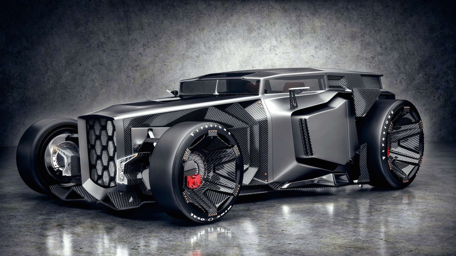 Supercar Lamborghini Hot Rod - Original image