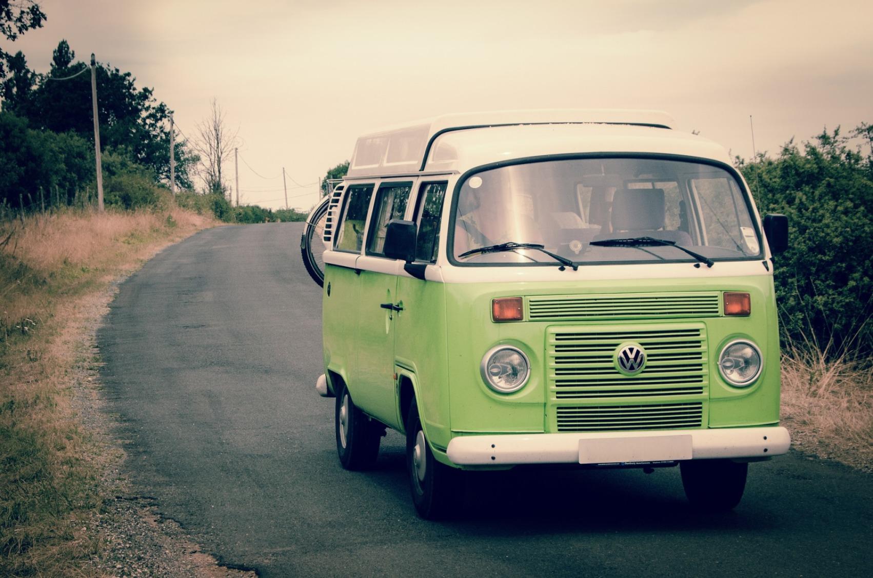 VW Campervan - Original image