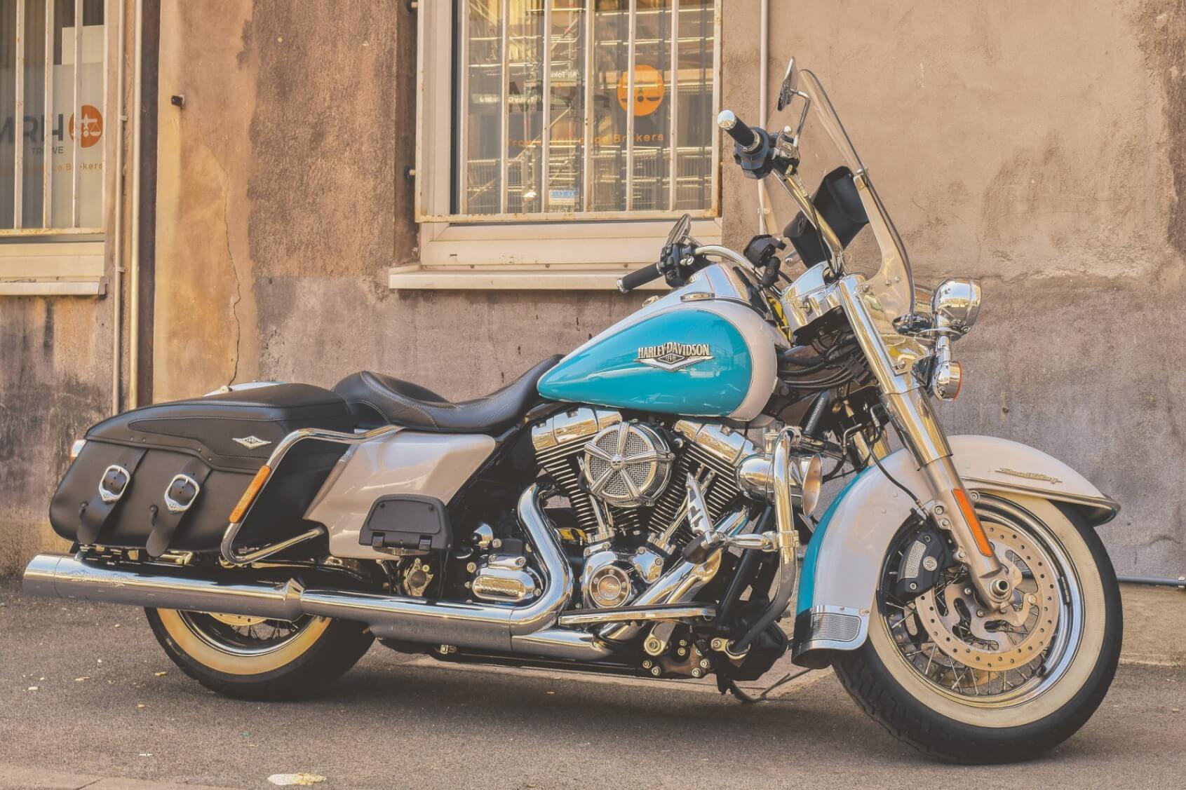 Harley Davidson Road Cruiser - Original image