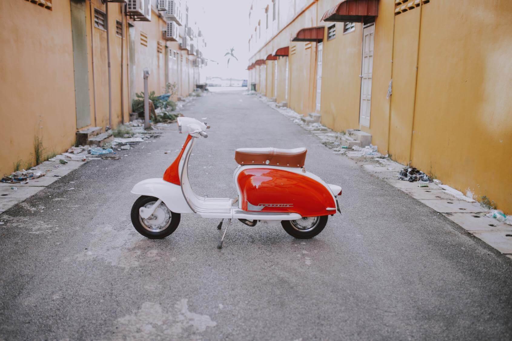 Motor Scooter Lambretta - Original image