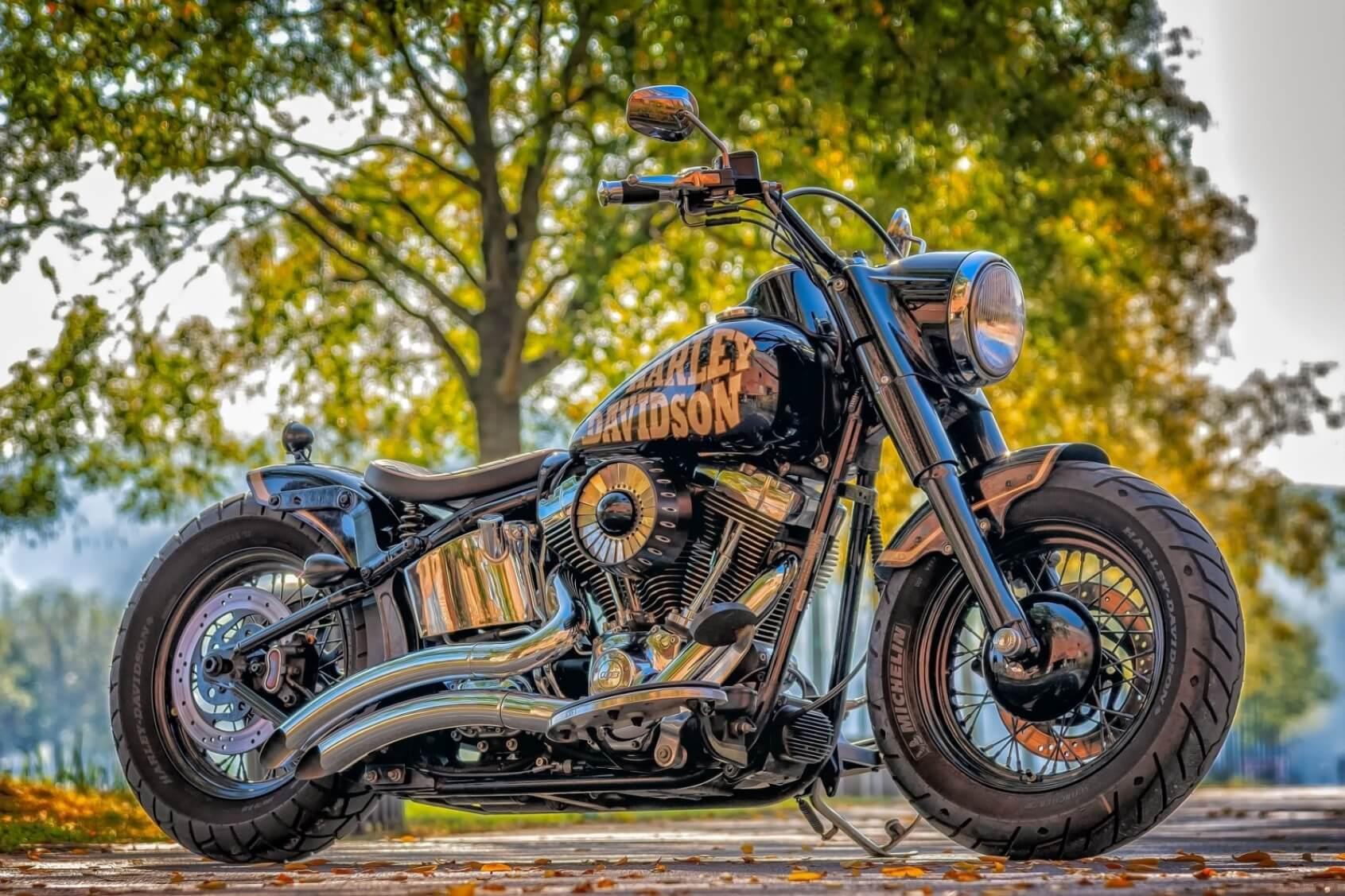 Harley Davidson Motorcycle - Original image