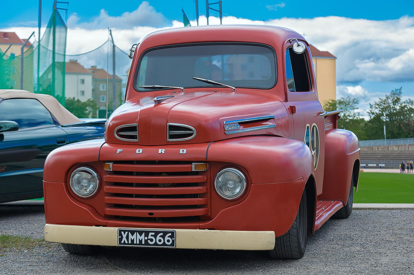 Red Lorry Ford - Original image