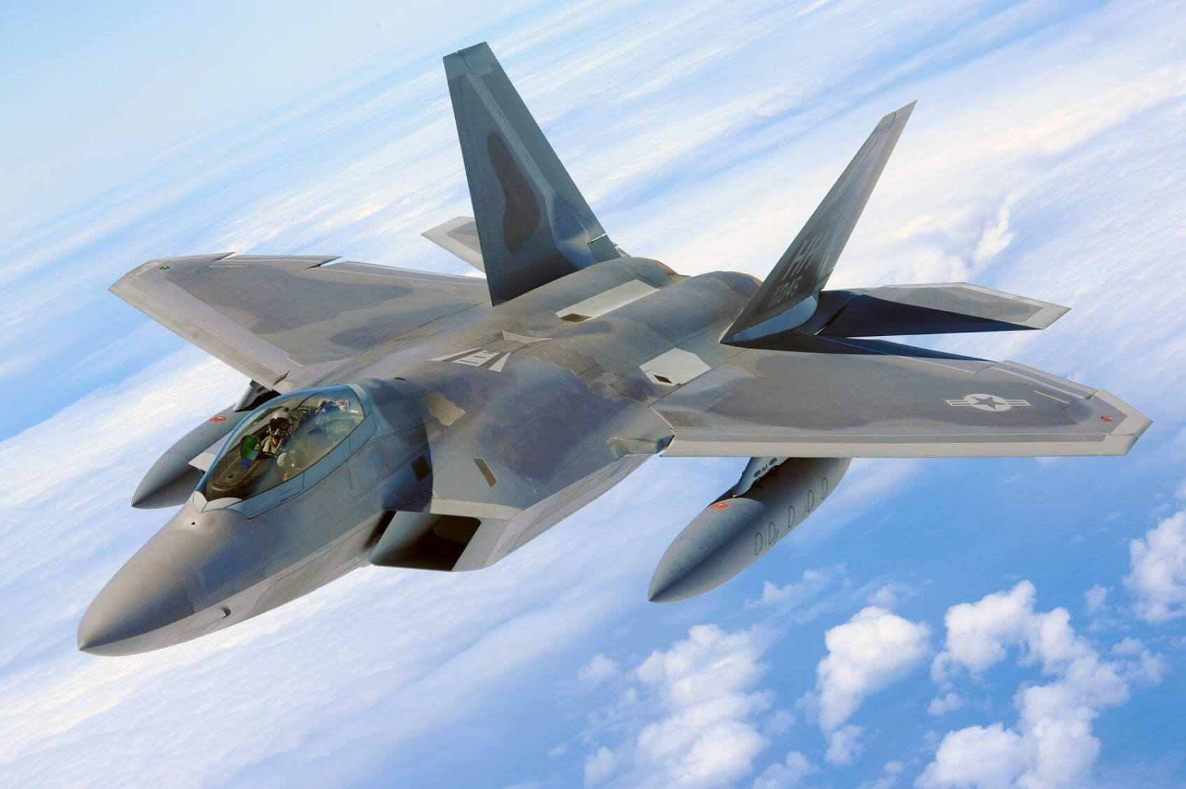 Military Jet Fighter - Original image
