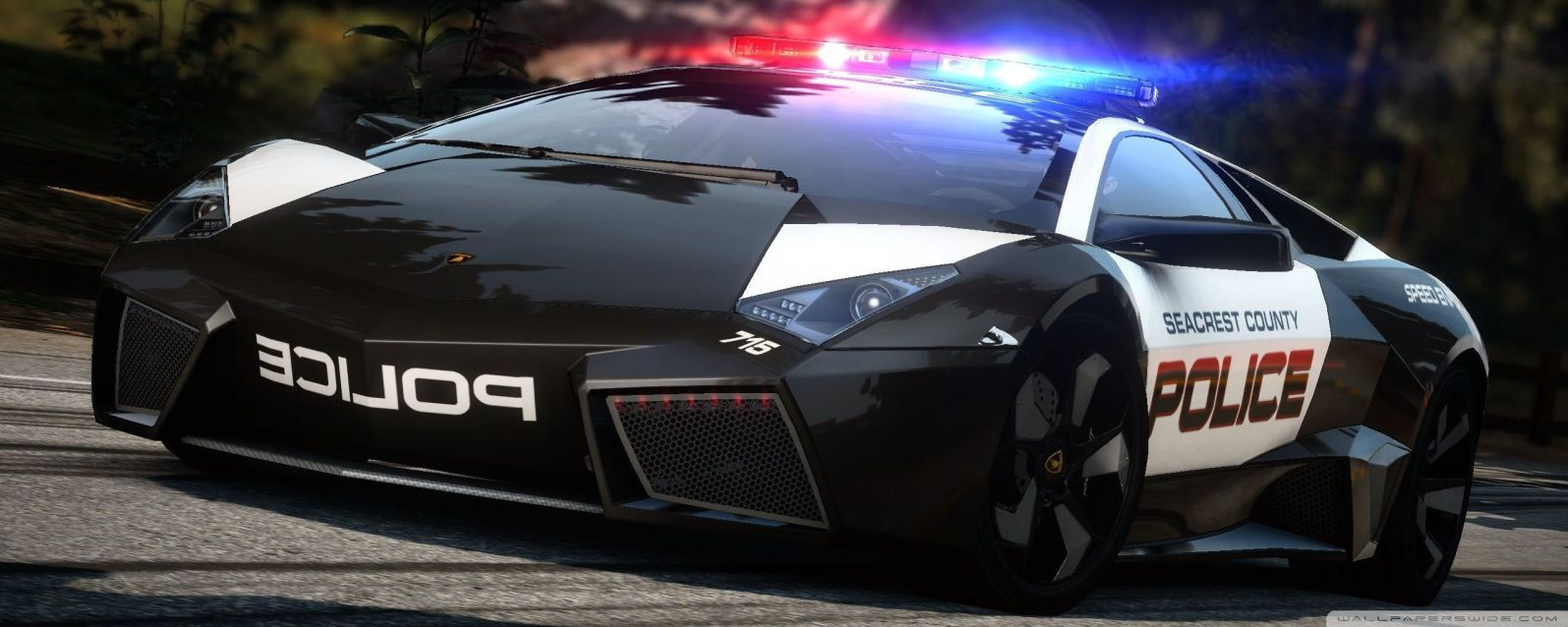 Amazing Police Sports Car - Original image