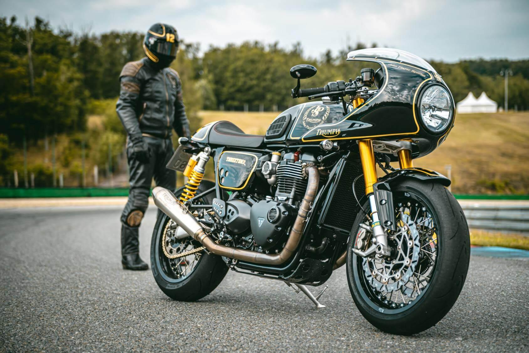 Triumph Motorcycle - Original image
