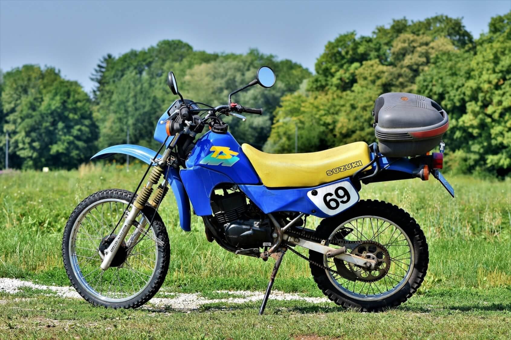 Suzuki Enduro Motorcycle - Original image