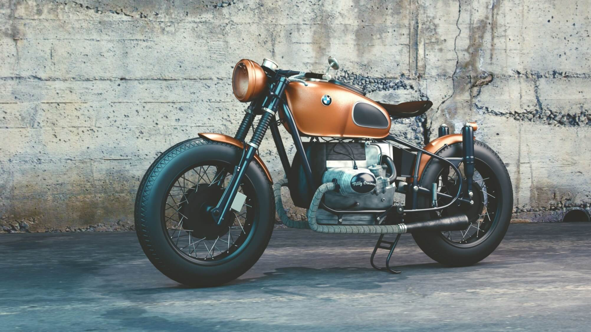BMW R80 - Original image