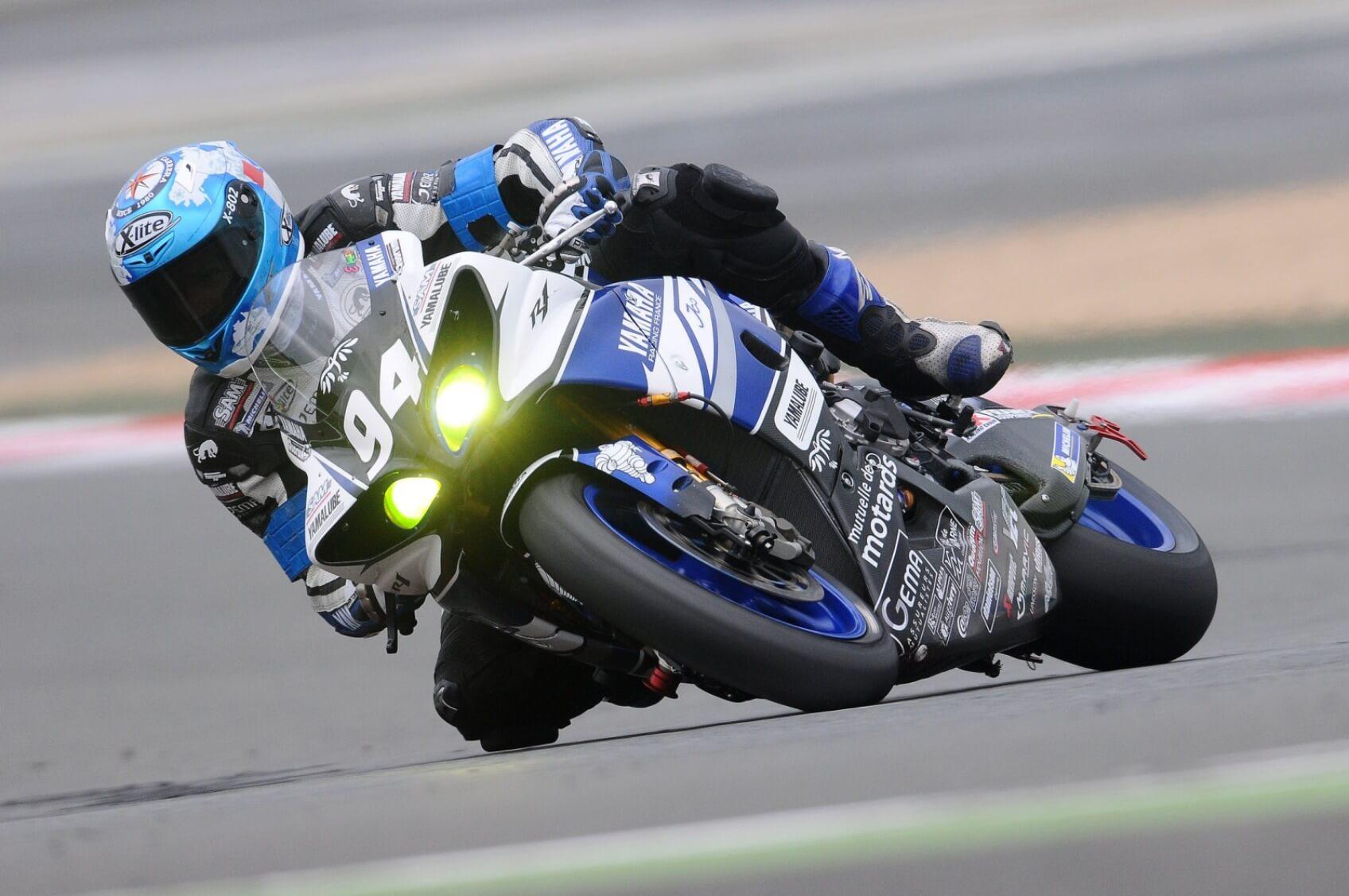 Yamaha motorcycle - Original image