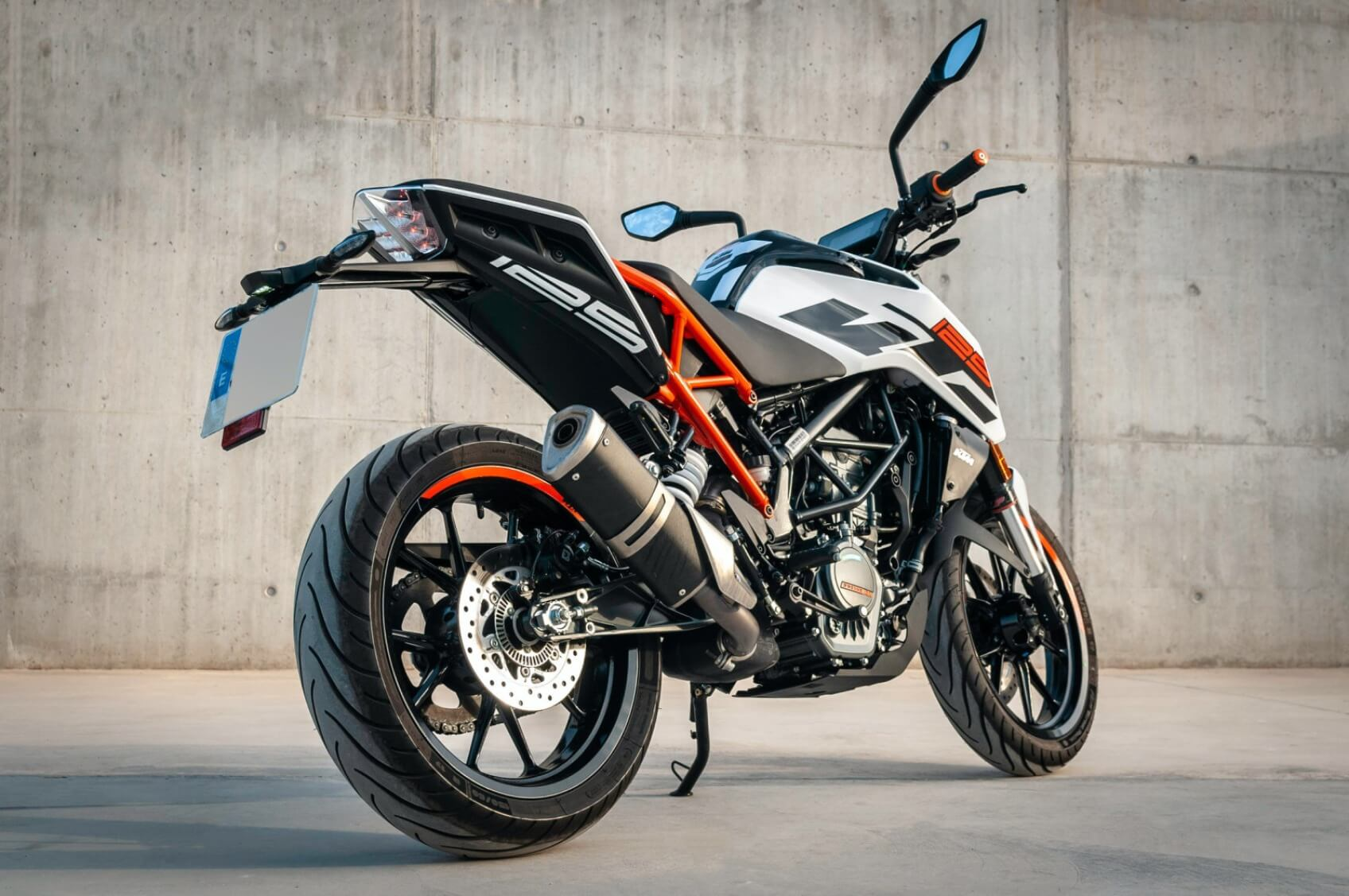 KTM Duke Motorcycle - Original image