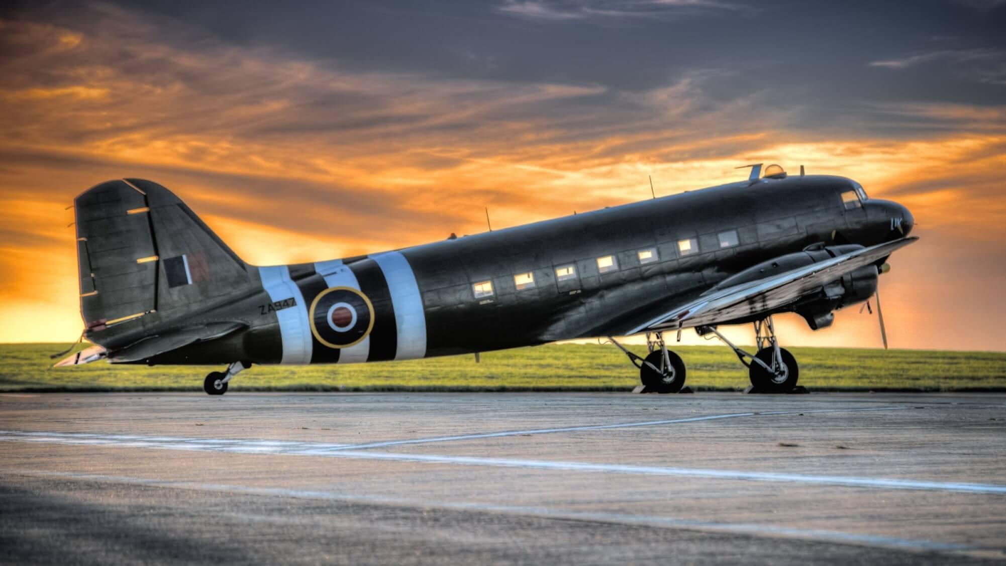 Douglas DC-3 - Original image