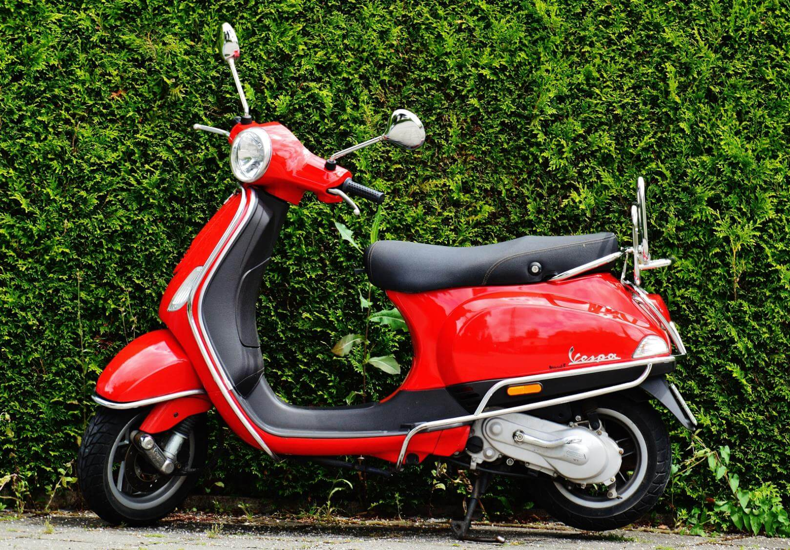 Vespa Scooter - Original image