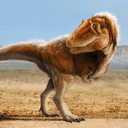 Lythronax dinosaur - Origin image