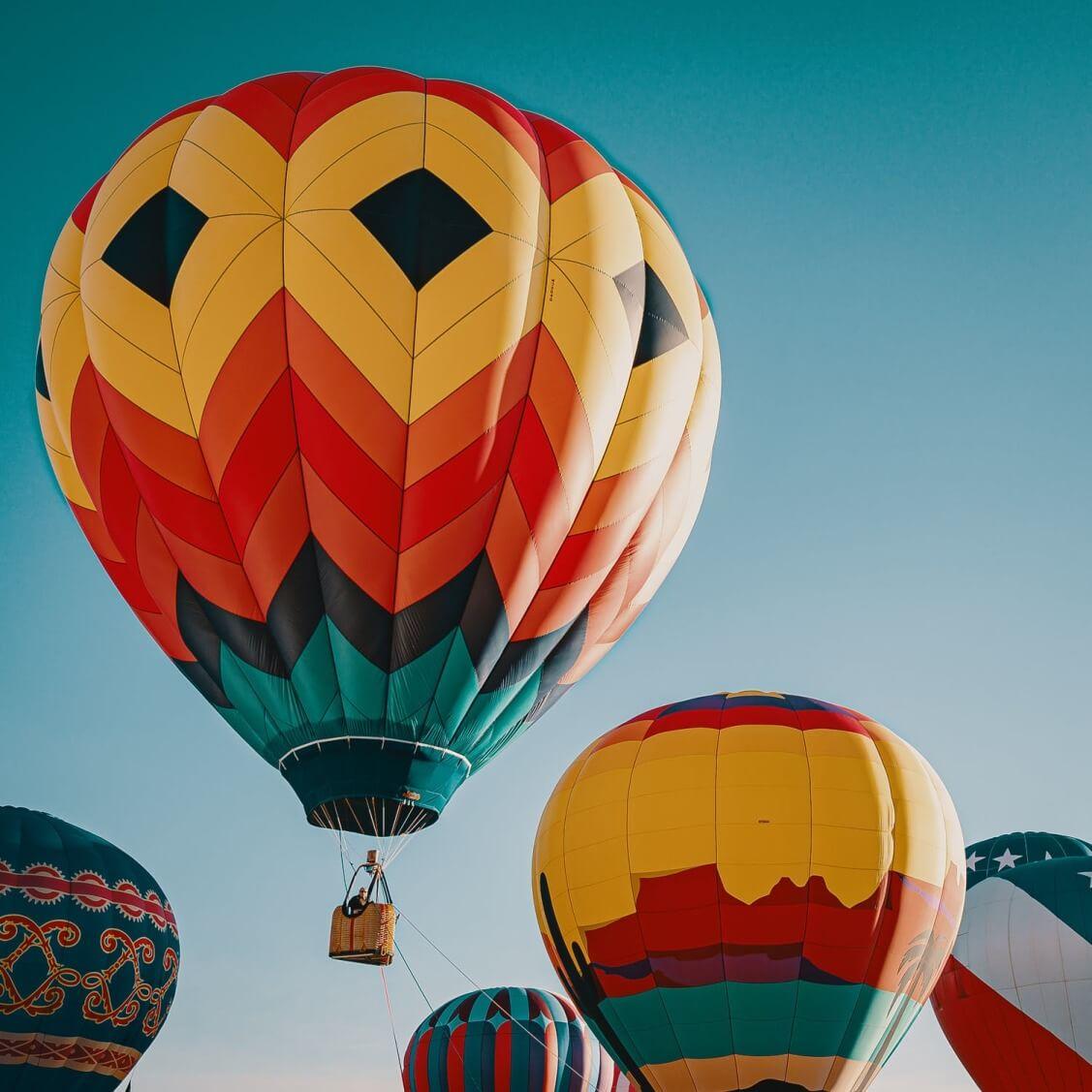 Hot Air Balloon - Original image
