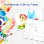 Unicorn Coloring Page - Collection2020