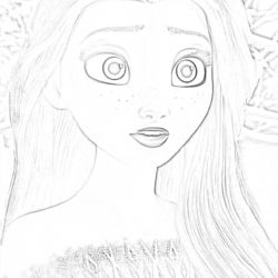 Princess Merida - Coloring page