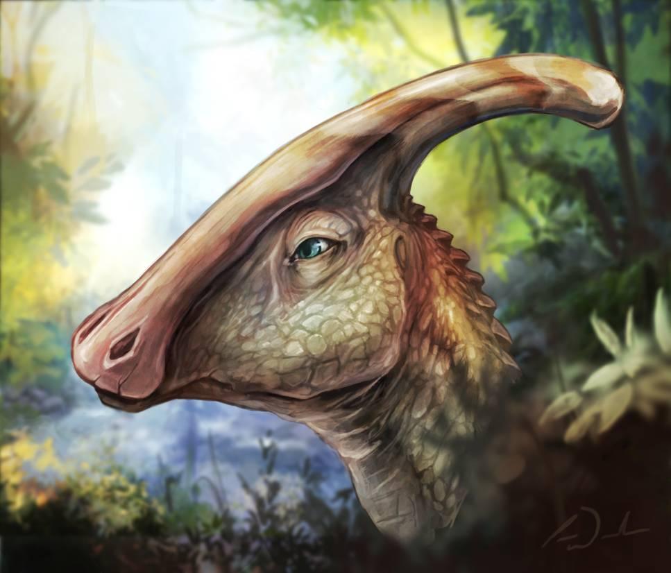 Parasaurolophus - Original image