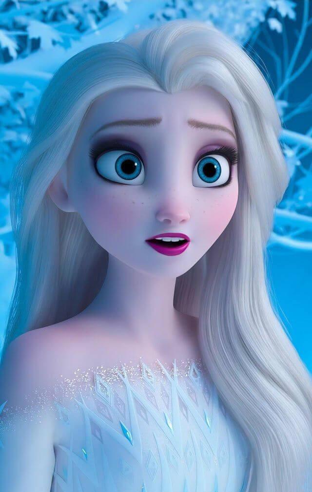 Frozen Elsa - Original image