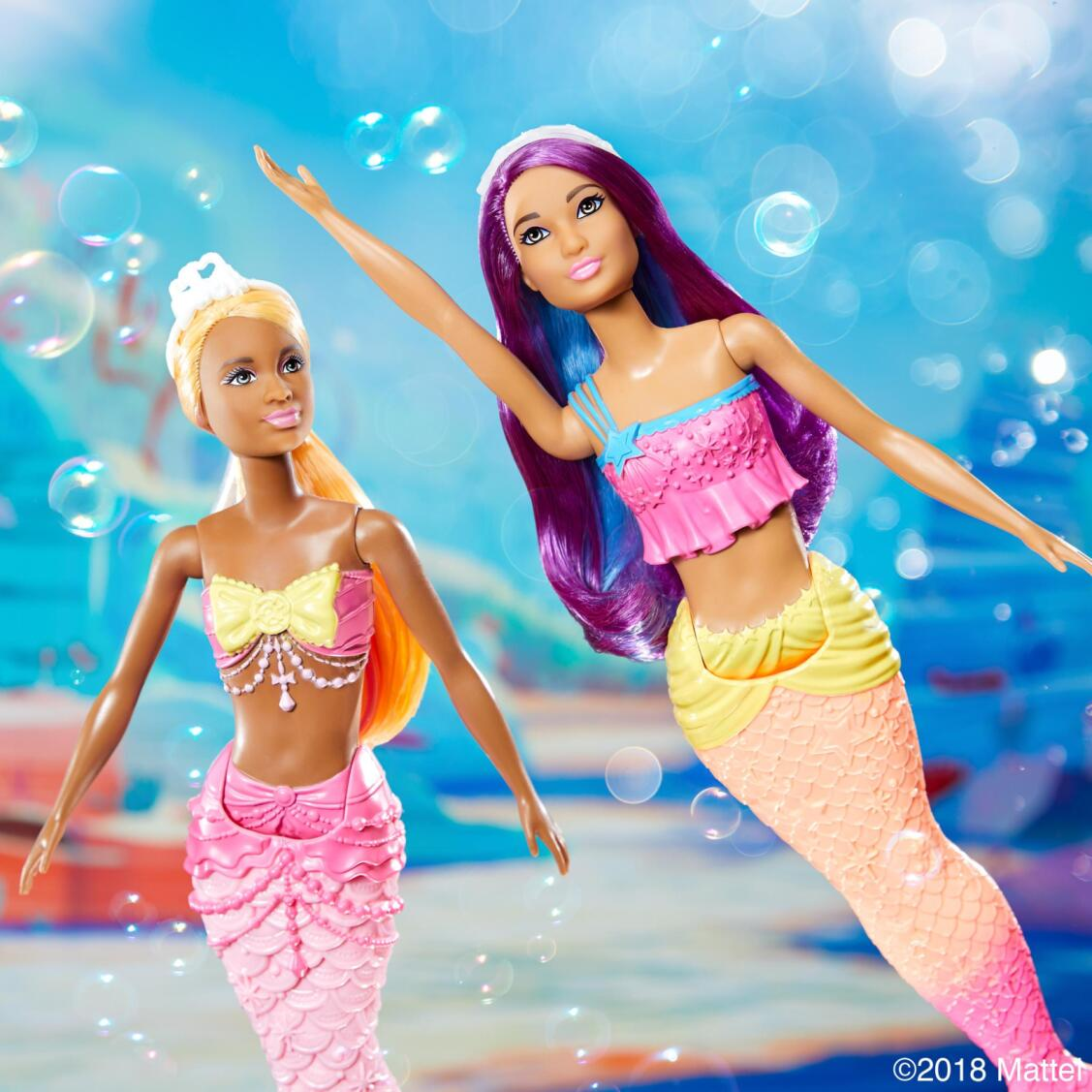 Barbies Mermaids - Original image