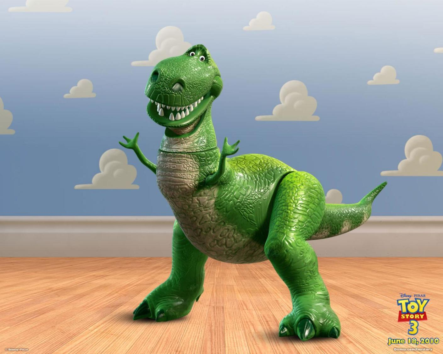 T-Rex Toy Story - Original image