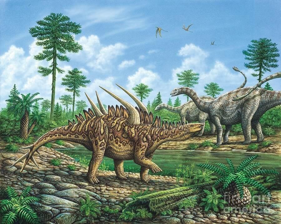 Huayangosaurus - Original image