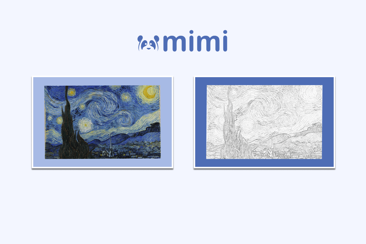 Create Colorings From any Photos with Mimi Panda