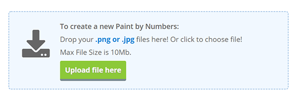 Convert Photo Into Paint by Numbers Online for Free